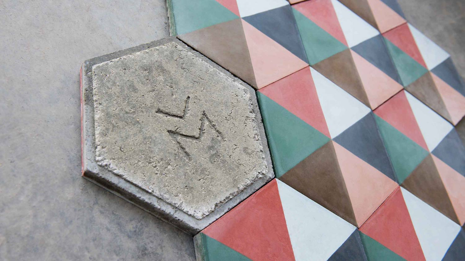 Mosaico Cemented Tile
