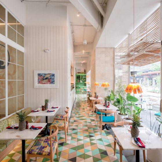 Restaurant Designer Tiles