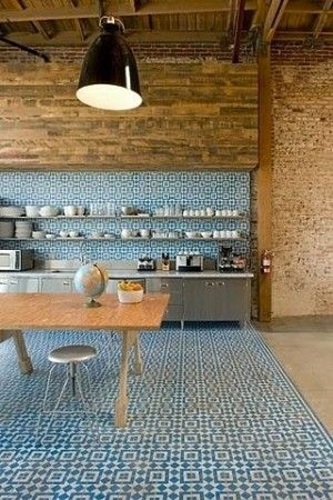 Designer Tiles in Kitchen