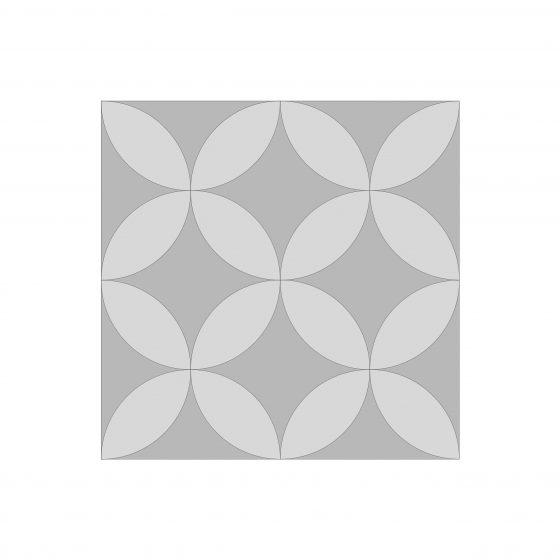 Daisy Mosaic Tile