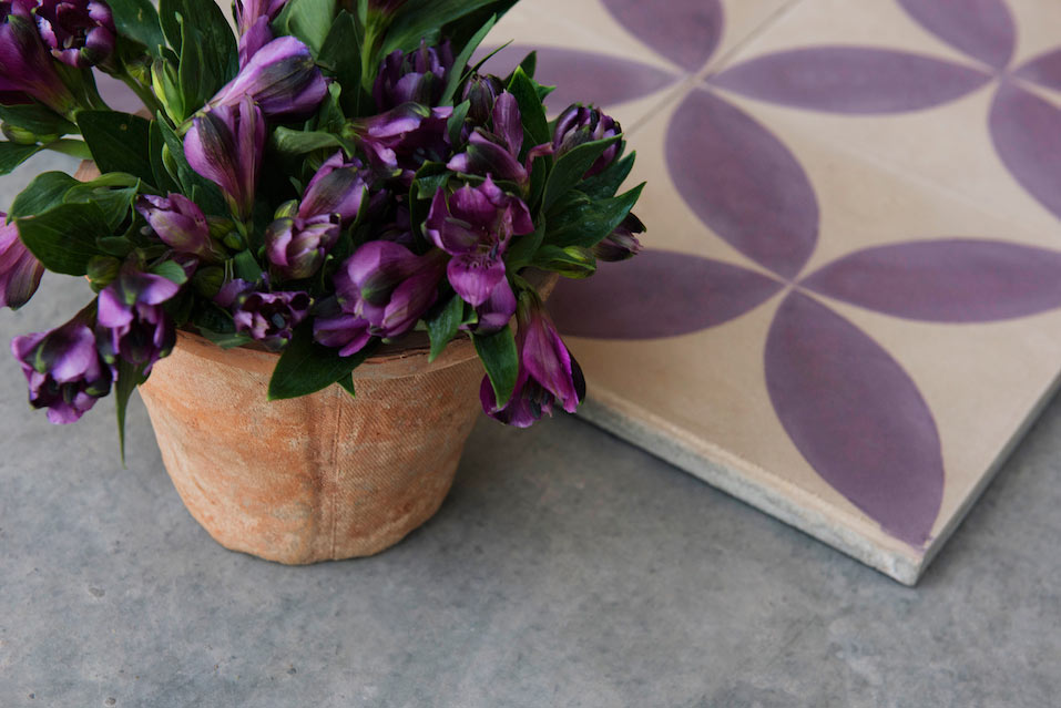 Designer Purple Tiles