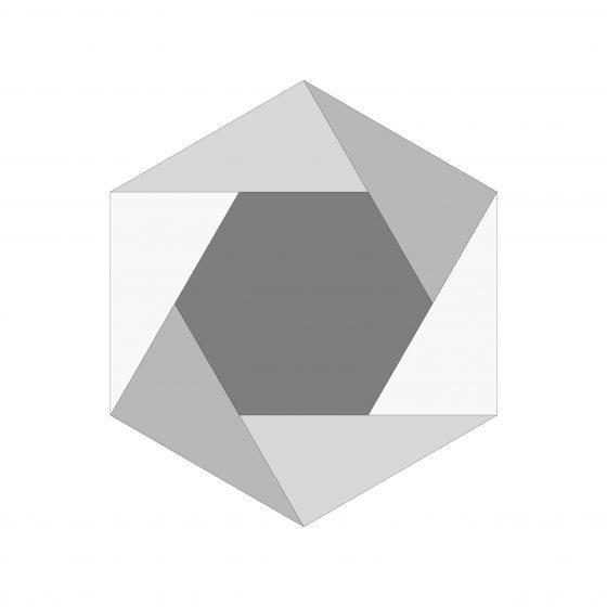 Pinwheel Cemented Tile
