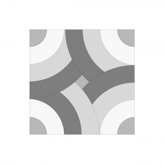 Spin Cemented Tile