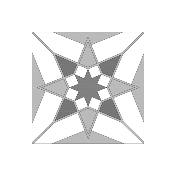 Star Design Tile