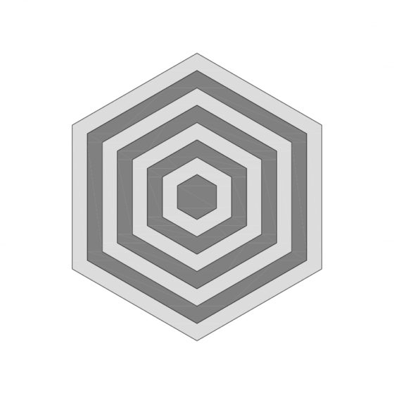 Hexagonal Pattern Tile