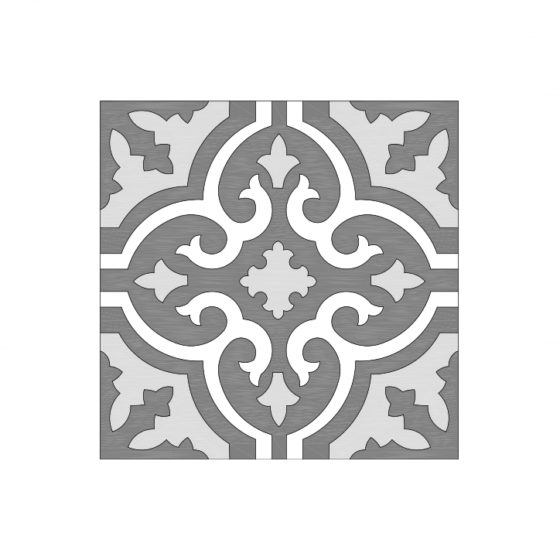 Patterned Design Tile